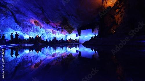 Cueva de la Flauta de Caña en Guilin, China