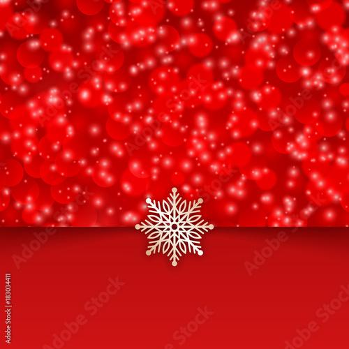 Merry christmas background snowflakes