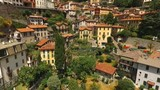 Residential buildings of the Italian town. - 183049692