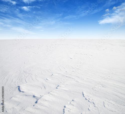 Staande foto Wit winter landscape background