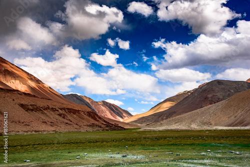 Fotobehang Diepbruine Ladakh Diaries