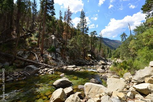 Fotobehang Bergrivier Trip to Nevada and California, USA