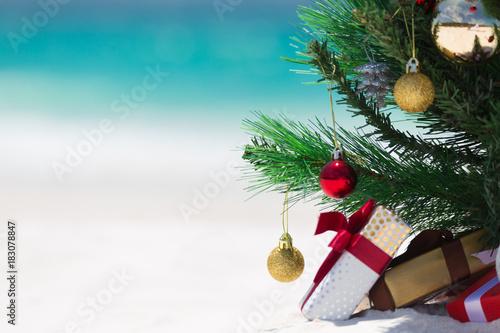Australian Beach Christmas - 183078847