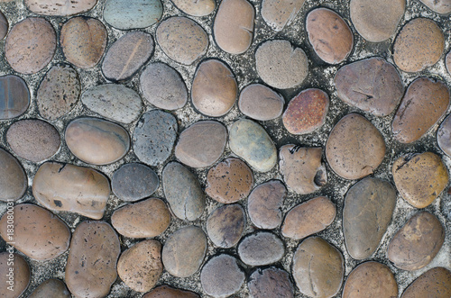Fotobehang Stenen Texture of Stone Floor.