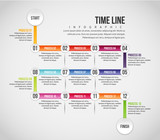 Time Line Infographic - 183101495