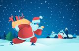 Babbo Natale in arri...
