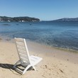 deck chair in Sardinia, Spain - 183112656