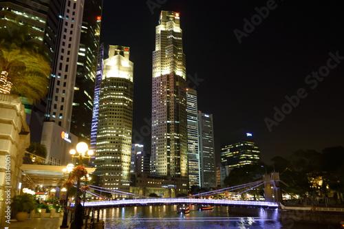 シンガポールの夜景 Poster
