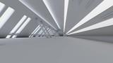 3D animation of a modern Interior entrance hall.  - 183146891