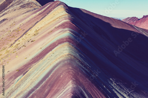 Aluminium Galyna A. Rainbow mountain