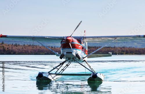 Aluminium Galyna A. Seaplane in Alaska