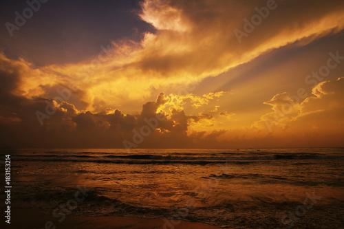 Fotobehang Zomer Beautiful Sunrise