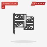 united kingdom vector icon - 183154076