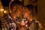valentine lights couple - 183158265