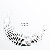 abstract halftone dots background design
