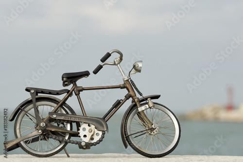 Deurstickers Fiets bici
