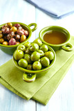 Different Types of Olives and Olive Oil - 183187415