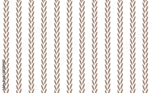 Seamless pattern in scandinavian style. Knitted patterns for print on wallpaper, gift paper, textile, paper. Two-color pattern. - 183194467