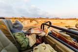 Little girl on safari - 183199013