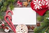 Christmas greeting card - 183204297