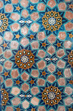 asian old ceramic mosaic. elements of oriental ornament on ceramic tiles - 183206073