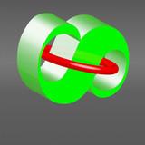 Unendlich grün rot - 183206086