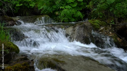 River or waterfall stream