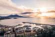Dramatic sunrise in Naples on an Early December Morning - 183212448
