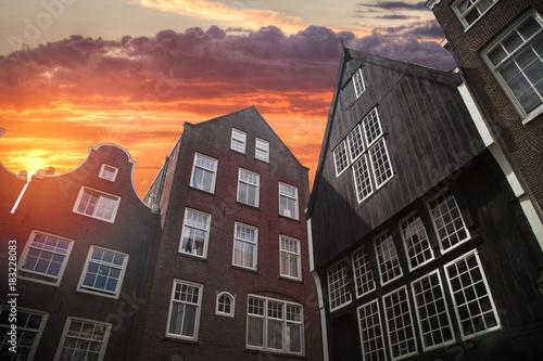 In de dag Amsterdam Amsterdam autumn.