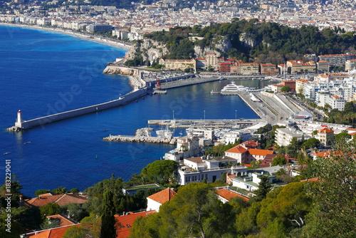 Papiers peints Nice baie de Nice