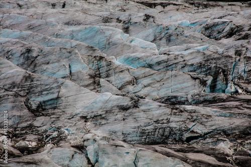 Plexiglas Donkergrijs iceland islandia