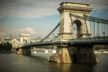 Puentes de Budapest, hungría