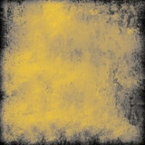 Dark yellow grunge background - 183239645