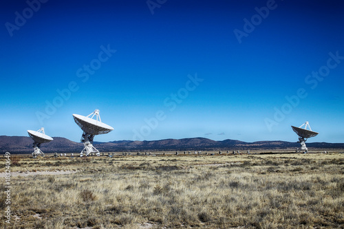 Foto op Canvas UFO VLA, Very Large Array In New Mexico