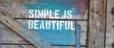 Simple is beautiful - 183241899