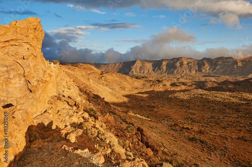 Tuinposter Natuur Landscape of Tenerife Hinterland