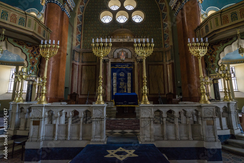 Sofia Synagogue altar, Bulgaria © Francesco Bonino
