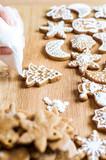 Cooking Christmas cookies - 183274699