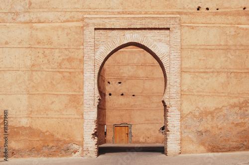 Papiers peints Maroc Classic arch architecture style enterance