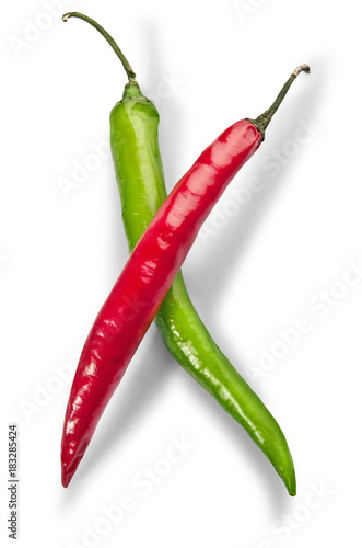 Tuinposter Hot chili peppers chili pepper