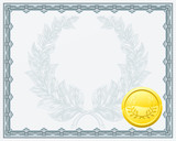 Certificate Diploma Background Template