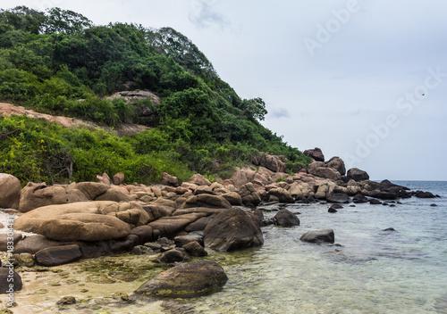Foto op Canvas Natuur Pigeon island