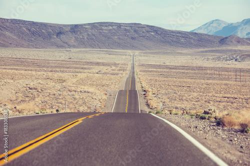Aluminium Galyna A. Road in prairie