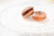 Macarons french pastries