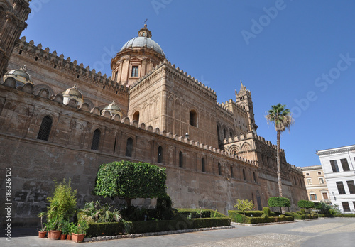 Tuinposter Palermo Cathedral church in Palermo