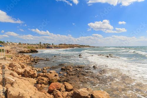 Plexiglas Cyprus Sunny Cyprus seascape