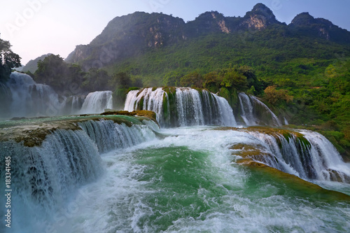 waterfall vietnam - 183341485