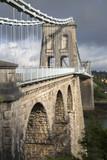 Menai Suspension Bridge; Anglesey; Wales - 183354677