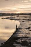 River Artro at Dusk in Pensarn, Wales - 183359007