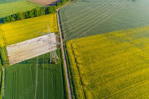 Foto op Aluminium Honing Landschaft in Deutschland